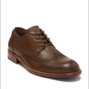John Varvatos men's Waverly Wingtip shoes